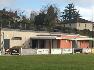 Construction des vestiaires du Club de Rugby de Renage